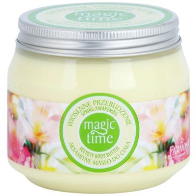 žametno maslo za telo za prehrano in hidracijo