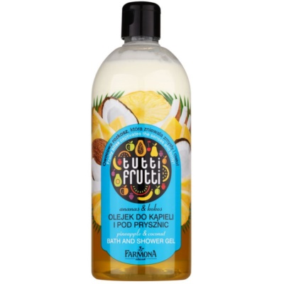 Shower and Bath Gel Oil