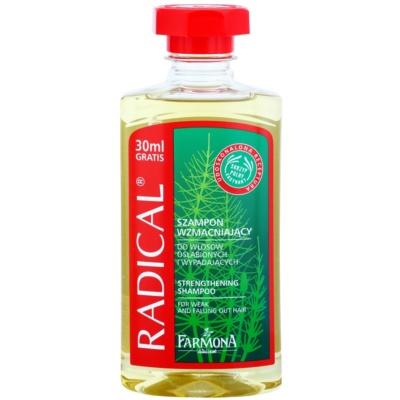 šampon pro posílení vlasů