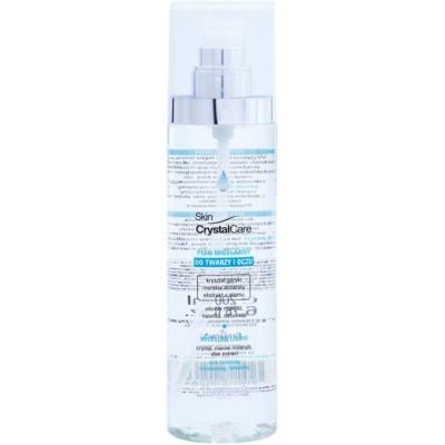 eau micellaire nettoyante visage et yeux