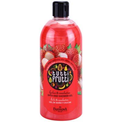 Farmona Tutti Frutti Lychee & Rambutan gel bagno e doccia