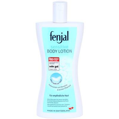 Körpermilch für empfindliche Oberhaut
