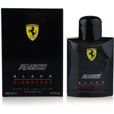 Ferrari Scuderia Ferrari Black Signature toaletná voda pre mužov 125 ml