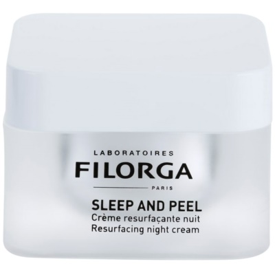 Filorga Medi-Cosmetique Sleep and Peel crema notte rigenerante per una pelle luminosa e liscia