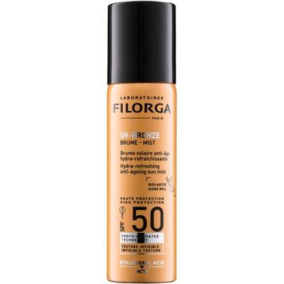 Filorga Medi-Cosmetique UV Bronze spray protetor hidratante e refrescante contra os sinais de envelhecimento da pele SPF 50