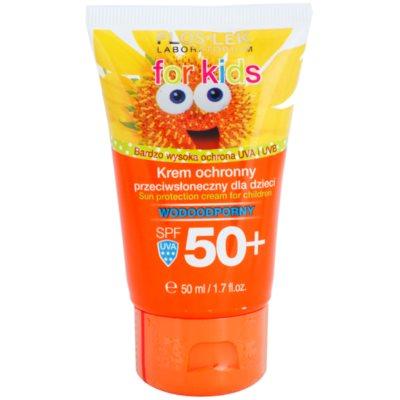 FlosLek Laboratorium Sun Care creme protetor para crianças SPF 50+