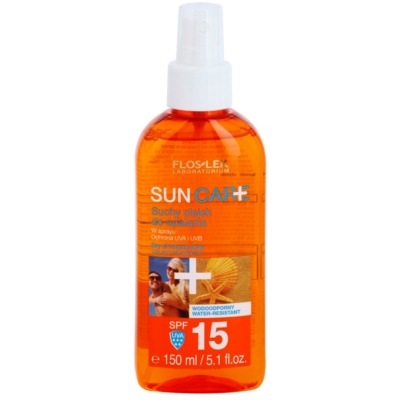 aceite seco solar en spray SPF 15