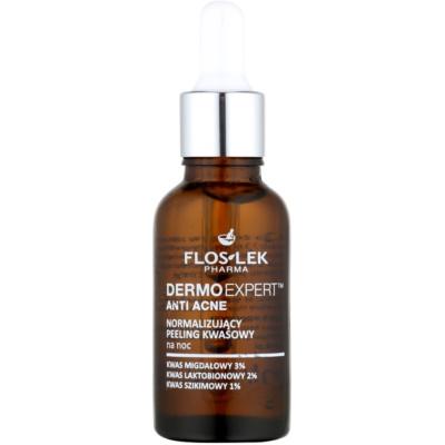 normalisierende Nachtpflege für Haut mit kleinen Makeln