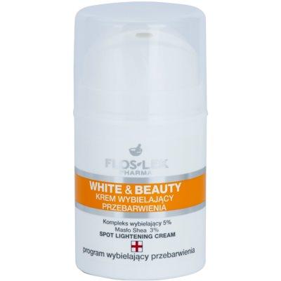 Whitening Cream For Local Treatement