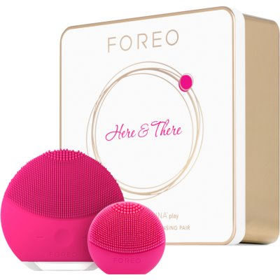 FOREO Gift Set Here & There set cosmetice I. (perfecta pentru curatare)