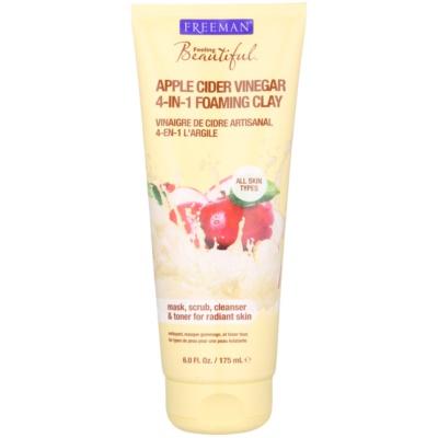 Gesichtsmaske mit Kaolin für alle Hauttypen