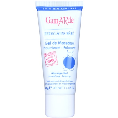 Relaxing and Nourishing Massage Gel For Baby's Skin
