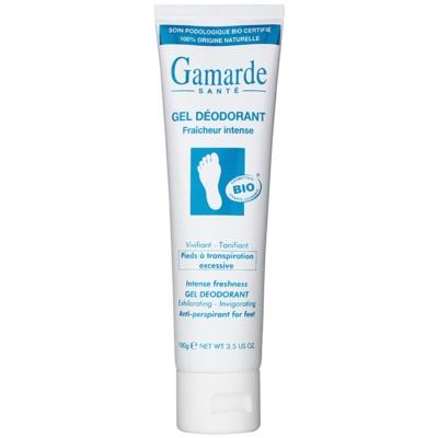 osviežujúci gélový antiperspirant na nohy