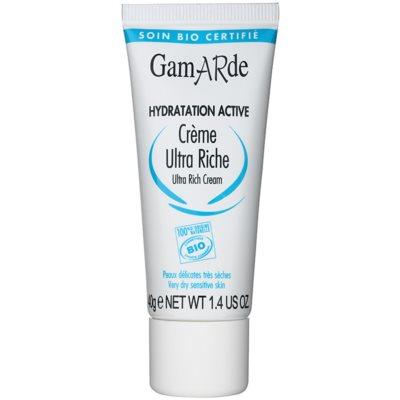 creme nutritivo e profundamente hidratante  para pele seca a sensível