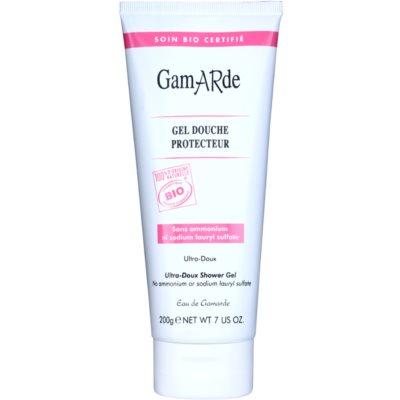 sprchový gel pro ochranu pokožky