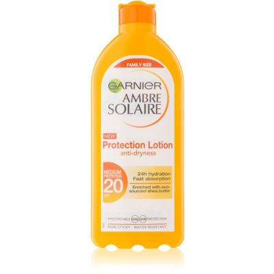 Garnier Ambre Solaire ochronne mleczko do opalania SPF 20