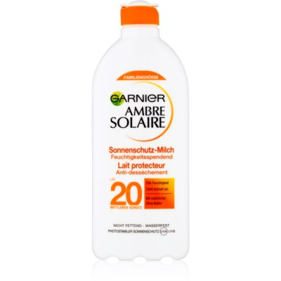 opalovací mléko SPF 20