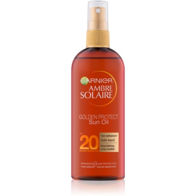 Garnier Ambre Solaire Golden Protect Sonnenöl SPF 20