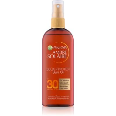 Garnier Ambre Solaire Golden Protect олійка для засмаги SPF30