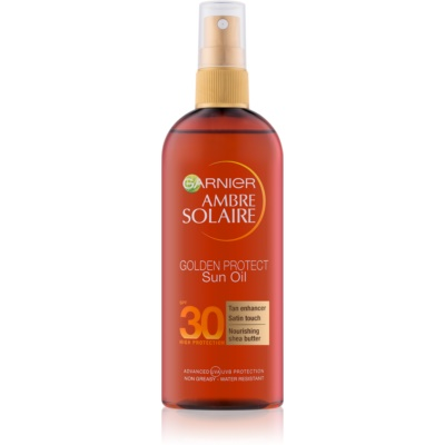 Garnier Ambre Solaire Golden Protect olejek do opalania SPF 30
