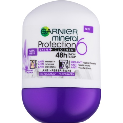 Garnier Mineral 5 Protection Antiperspirant Roll-On 48h