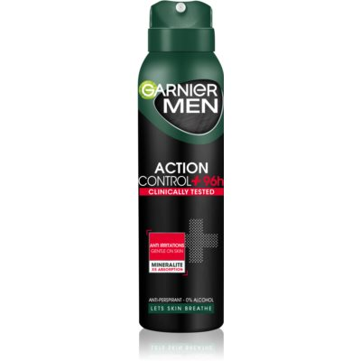 Garnier Men Mineral Action Control + Antiperspirant Spray