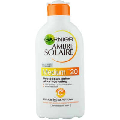 Garnier Ambre Solaire leche solar hidratante SPF 20