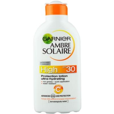 Garnier Ambre Solaire leite bronzeador SPF 30