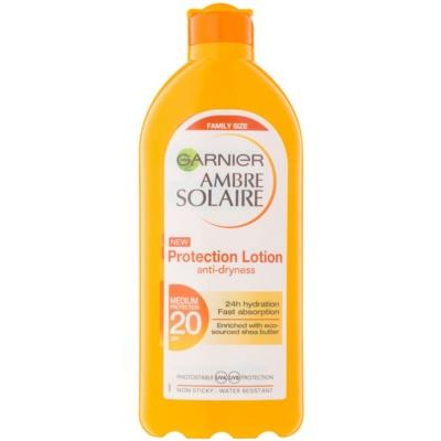 lait protecteur solaire SPF 20