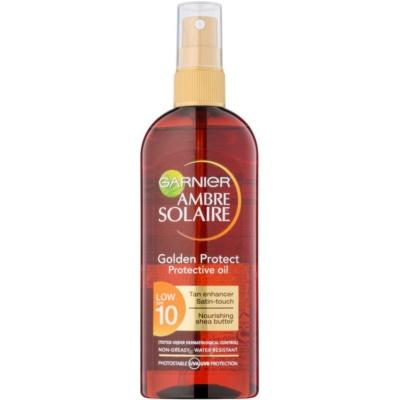 Garnier Ambre Solaire Golden Protect Sun Oil SPF 10