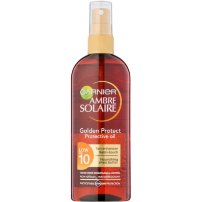 Garnier Ambre Solaire Golden Protect ulei pentru plaja SPF 10