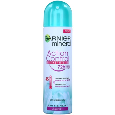 Garnier Mineral Action Control Thermic Antitranspirant Deospray