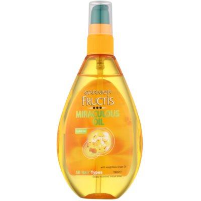 vyživující olej pro všechny typy vlasů