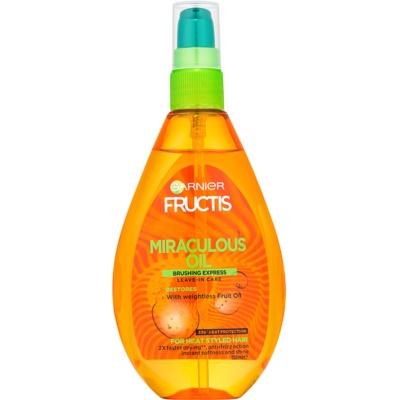 ochranný olej proti krepatění vlasů
