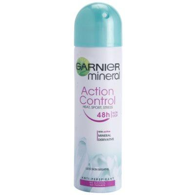 antitranspirante en spray