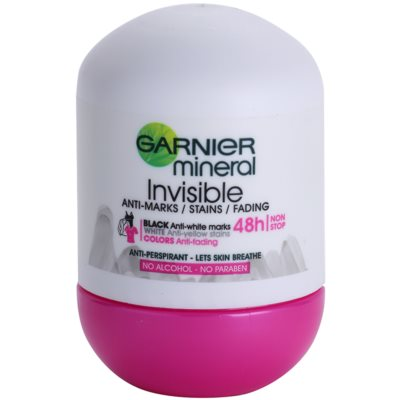 Garnier Mineral Invisible antitranspirante roll-on para mujer