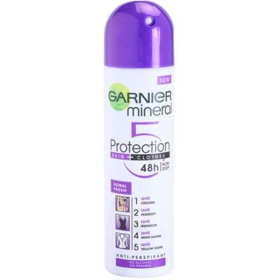 antitranspirante em spray sem álcool