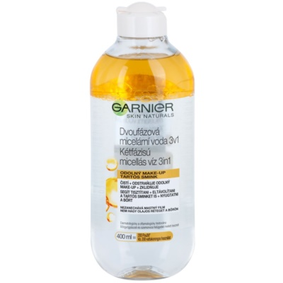 Garnier Skin Cleansing Two-Phase Micellar Water 3 In 1