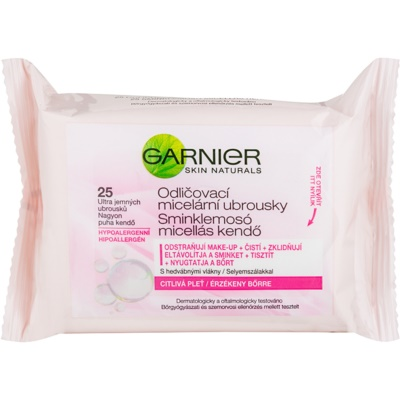 Garnier Skin Naturals Micellar Makeup Remover Wipes For Sensitive Skin