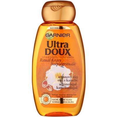 vyživující šampon pro suché a hrubé vlasy