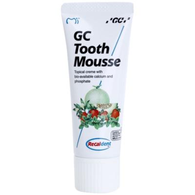 GC Tooth Mousse Tutti Frutti crema rimineralizzante protettiva per denti sensibili senza fluoro