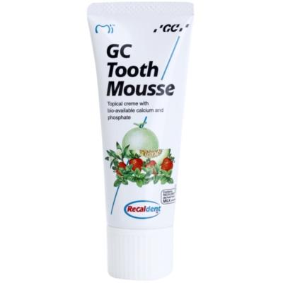 GC Tooth Mousse Vanilla crema rimineralizzante protettiva per denti sensibili senza fluoro