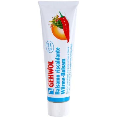 wärmendes Fußbalsam mit feuchtigkeitsspendender Wirkung für normale und trockene Haut