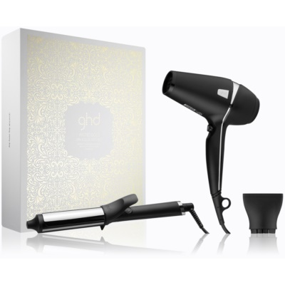 ghd Arctic Gold Dry & Curl Gift Set coffret I.