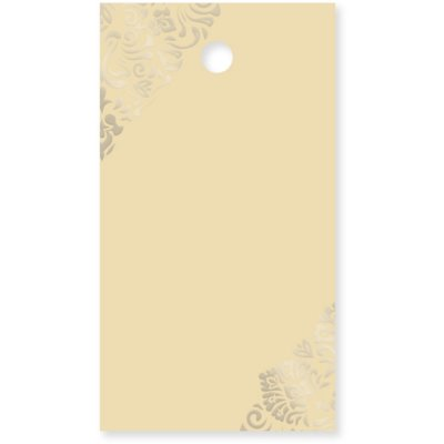 Etichetă cadou model auriu 15 bucăți