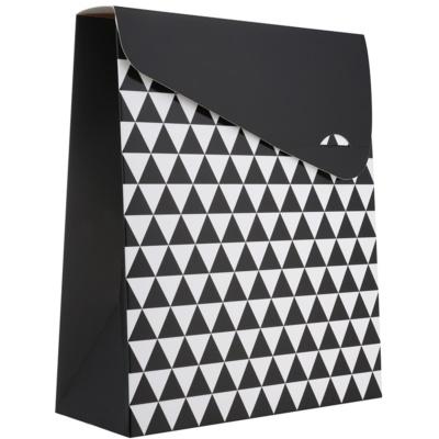 Geschenktüte Geometry klein (100 x 40 x 195 mm)