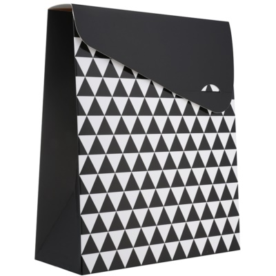 bolsa de regalo geometry pequeña (100 x 40 x 195 mm)