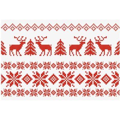 tarjeta de Navidad Xmas Jumper sin texto (A6)