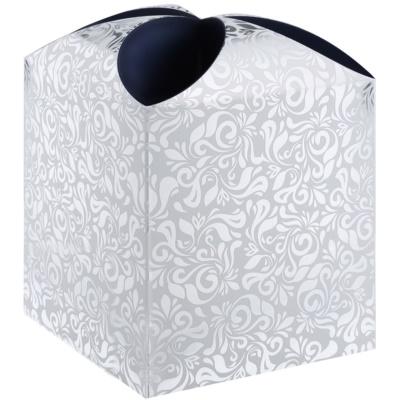 pudełko na prezenty gwiazda floral (115 x 115 x 115 mm)