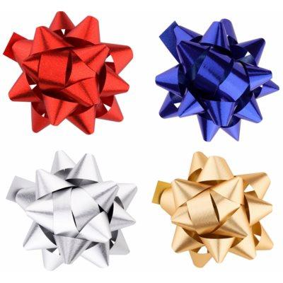 estrella decorativa adhesiva,  conjunto de 4 colores